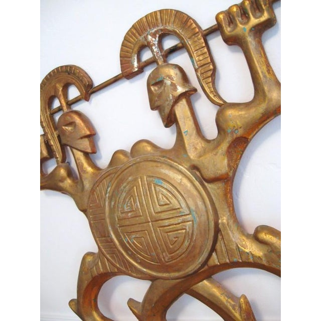 Frederick Weinberg Wall Sculpture - Image 6 of 6