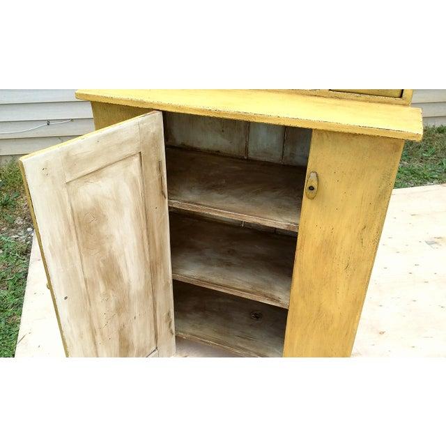 Handmade Yellow Apothecary Cupboard - Image 6 of 10