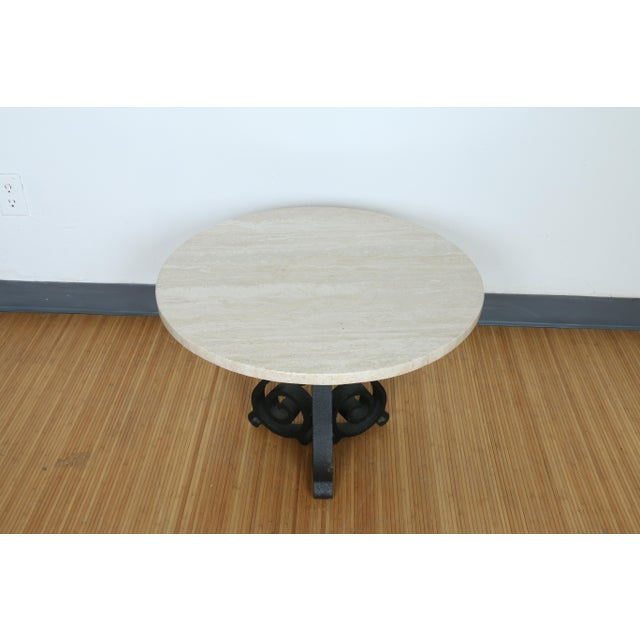Wrought Iron Small Side Table - Image 11 of 11