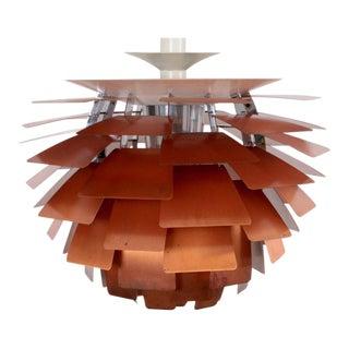 Early Original PH Artichoke Copper Lamp by Poul Henningsen