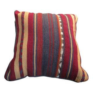 Striped Kelim Cushion
