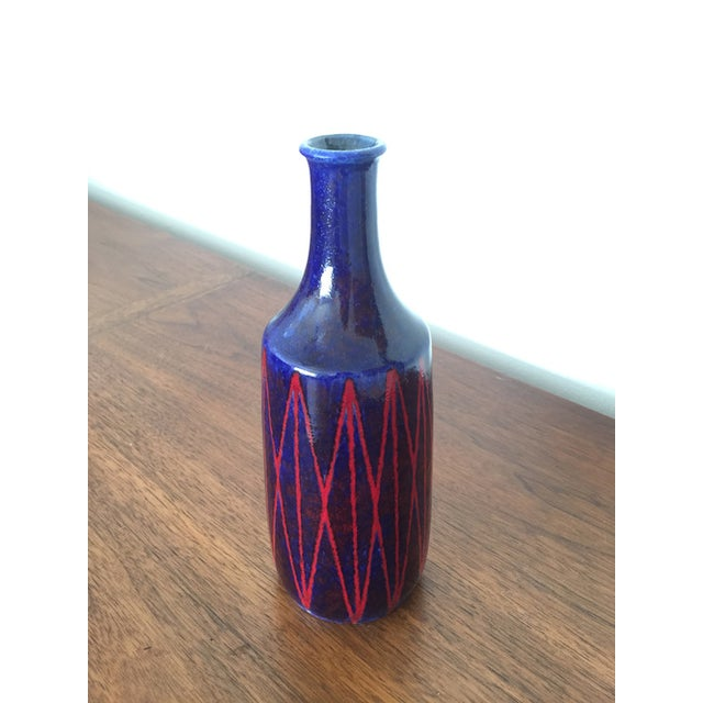 Scheurich Ceramics Ultramarine Blue Vase - Image 3 of 5