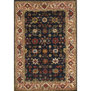 Pasargad N Y Hand-Knotted Mahal Design Rug - 4' X 6'