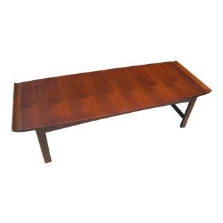 Danish Modern Lane Surfboard Coffee Table
