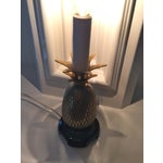 Image of Small Brass Pineapple Lamp