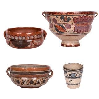 17th-century Jalisco Bruñido Pots