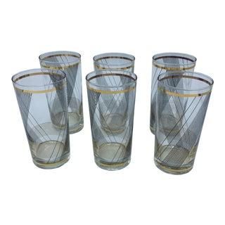 Culver Hi-Ball Glasses- Set of 6