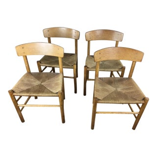 Borge Mogensen Model J39 Dining Chairs - Set of 4