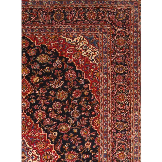 "Pasargad Kashan Collection Rug - 9'10"" X 13'10"" - Image 2 of 2"