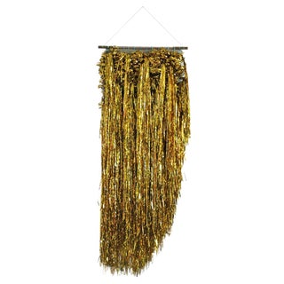 Liquid Gold Woven Wall Hanging