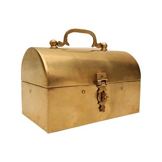 Handmade Brass Lunch Box