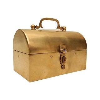Handmade Brass Lunch Box