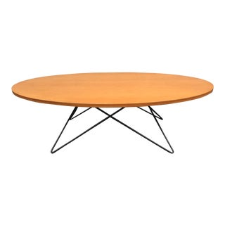 Eames-Style Wire Base Coffee Table