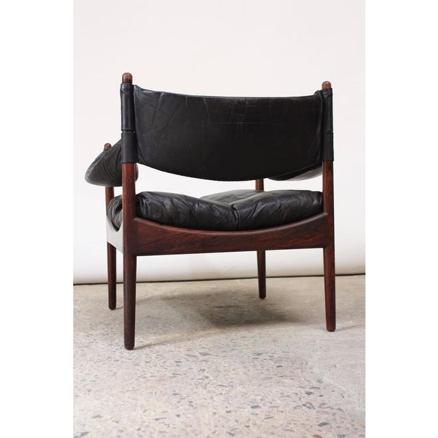 Set of Four Kristian Solmer Vedel 'Modus' Rosewood Lounge Chairs - Image 3 of 10