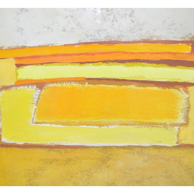 Image of Classic 1970s Abstract Painting by Phyllis Cimenti