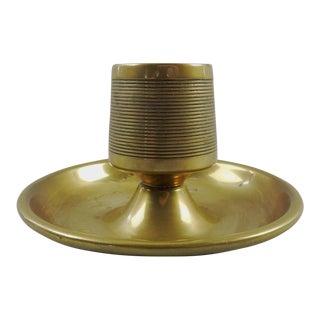 Vintage English Brass Match Striker & Holder