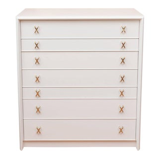 Paul Frankl Lacquered Seven-Drawer Chest