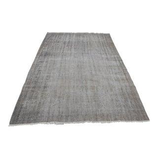 Tribal Turkish Antique Wool Floor Rug - 5′6″ × 9′5″