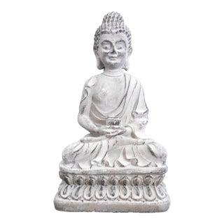 Sitting Buddha Cement Statue