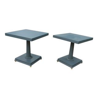 Hollywood Glam Side Tables - A Pair