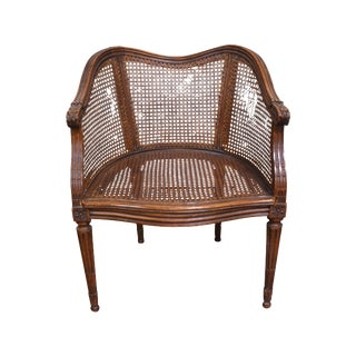 Vintage French Louis XV Caned Chair