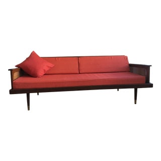Radio Weave Danish Modern Sofa