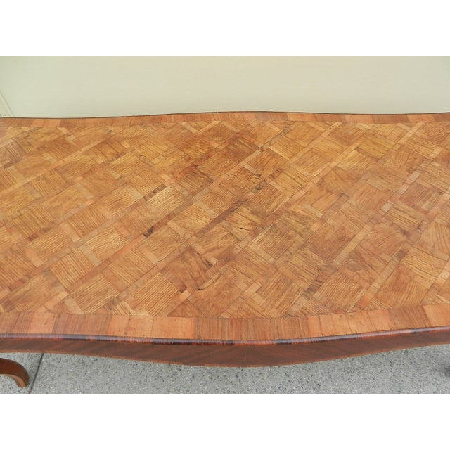 Image of Parquet Inlaid Coffee Table