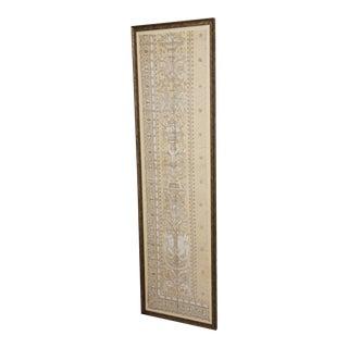 Gold Leaf Framed Cherub Lace Panel