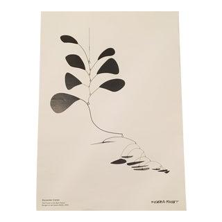 Alexander Calder Exhibition Print