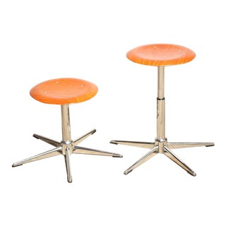 Adjustable Task Stools - a pair