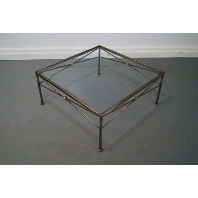 Image of Design Institute of America Steel Coffee Table