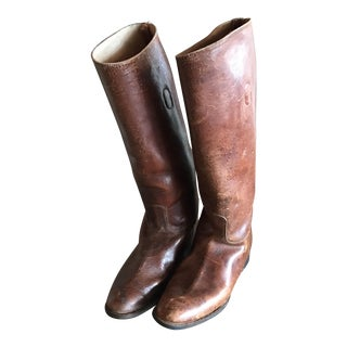 English Riding Boots - A Pair