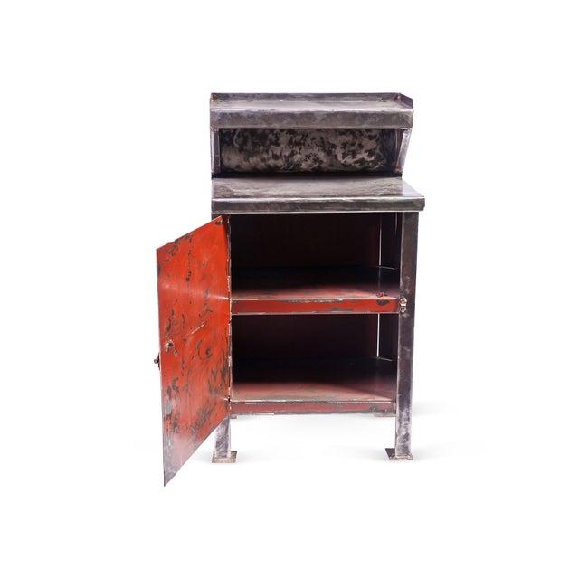 Vintage Metal Cabinet - Image 3 of 3