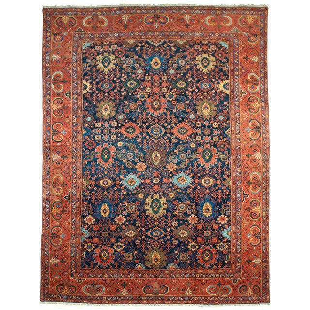 Antique Sultanabad Rug - 10′2″ × 13′6″ - Image 2 of 2