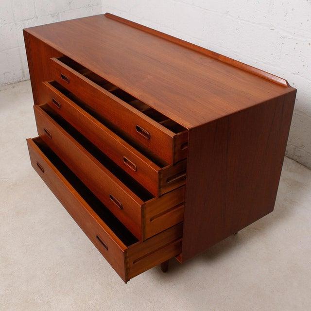 arne vodder danish teak sideboard chairish. Black Bedroom Furniture Sets. Home Design Ideas