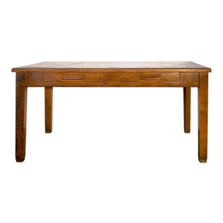 Antique Craftsman Library Table