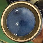 Image of Vintage Blue Ombré Canisters