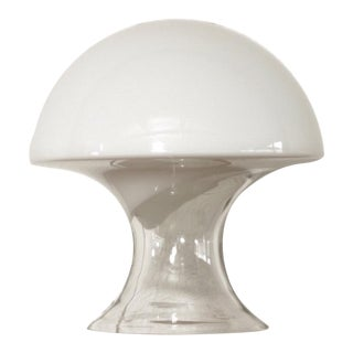 Mid Century Gino Vistosi Murano Glass Mushroom Table Lamp