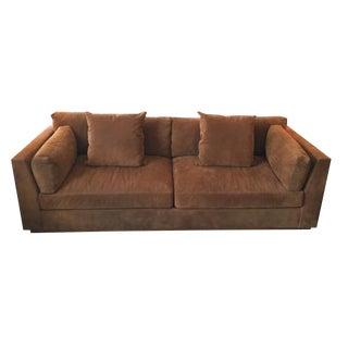 Ralph Lauren Home Desert Modern Suede Sofa