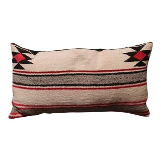 Pair of Navajo Saddle Blanket Pillows