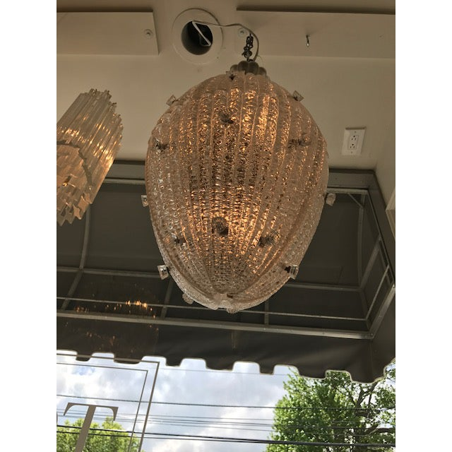 Carl Fagerlund for Orrefors Drop Pendant Chandelier - Image 2 of 6
