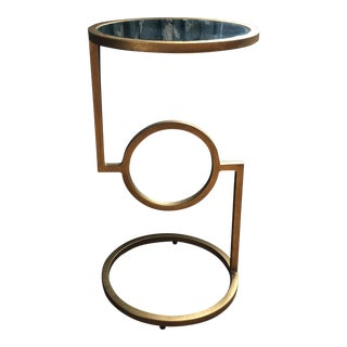 Camrina Champagne Accent Table