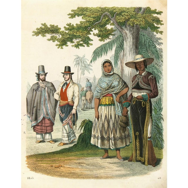 Original 1853 South America Engraving - Image 1 of 3