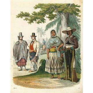 Original 1853 South America Engraving