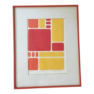 "Robert Waterman ""Dawn"" Lithograph"