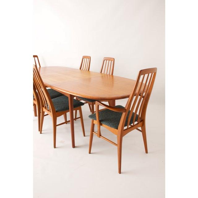 Koefoeds Hornslet Modern Teak Dining Set - Image 6 of 11