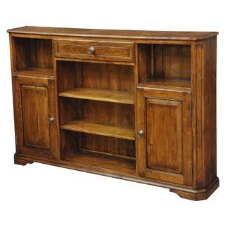 Sarreid LTD Walnut Hall Bookcase