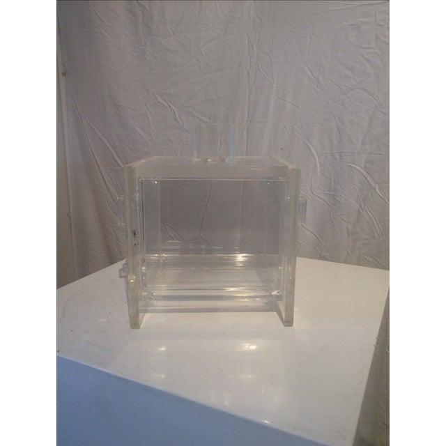 Mid-Century Modern Hollis Jones Style Ice Bucket - Image 3 of 7