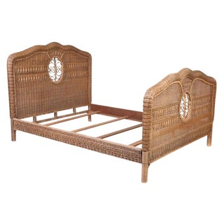 Ralph Lauren Wicker Bed