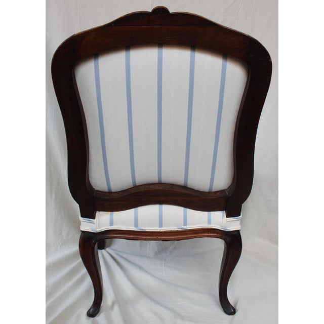 Antique Louis XV Style Fauteuil Chair - Image 6 of 9